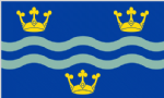 Cambridgeshire Large County Flag - 5' x 3'.